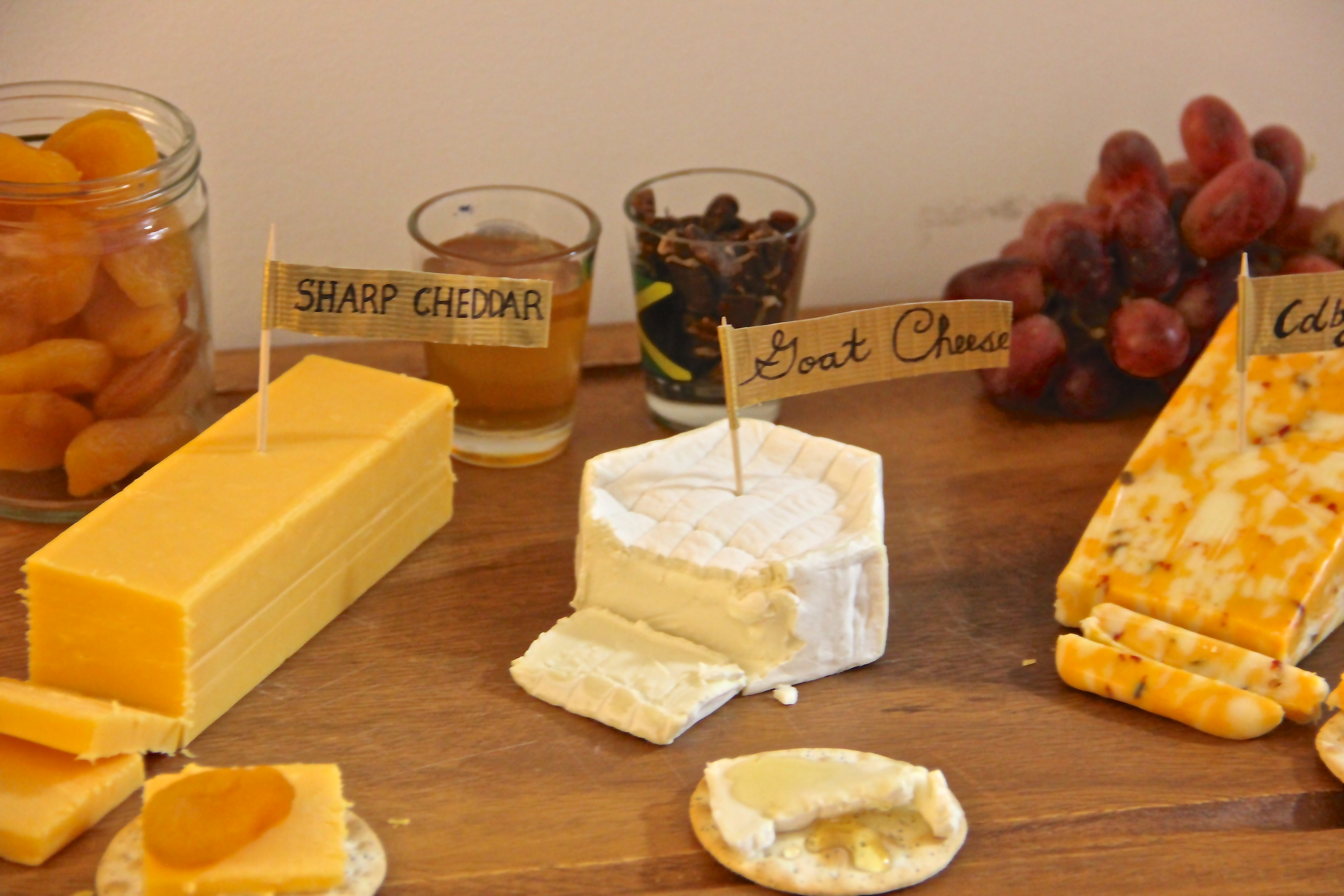Make your own cheese plate? Share pictures below! Enjoy! & DIY Cheese Plate   Essie Does Summer.